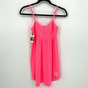 TNA Neon Radness Pink Berry Bliss Sleeveless Dress